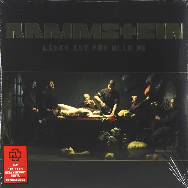 Rammstein Rammstein - Liebe Ist Fur Alle Da (2 LP) цена и фото