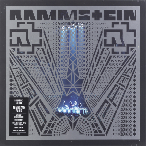Rammstein Rammstein - Paris (4 Lp+2 Cd+br) rammstein – mutter 2 lp