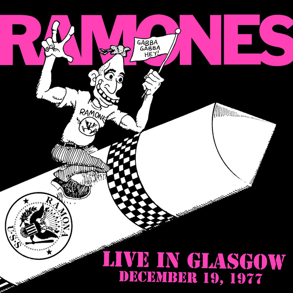 Ramones Ramones - Live In Glasgow December 19, 1977 (2 Lp, 180 Gr) linda ronstadt linda ronstadt live in germany 1976 2 lp 180 gr