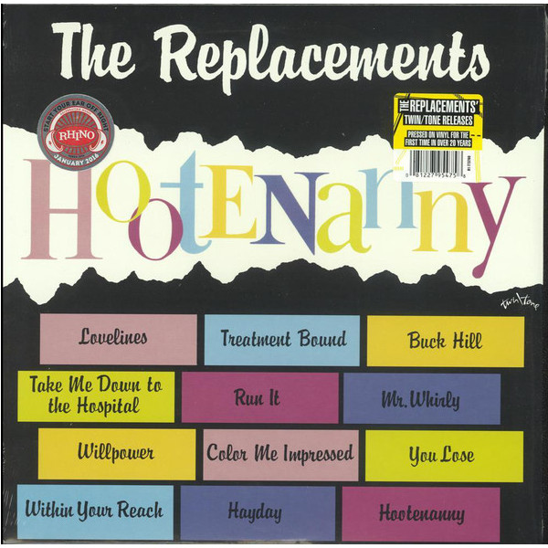 Replacements Replacements - Hootenanny replacements replacements let it be