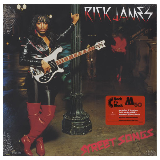 Rick James Rick James - Street Songs цена 2017