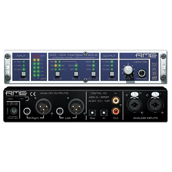 Внешняя студийная звуковая карта RME ADI-2 цены