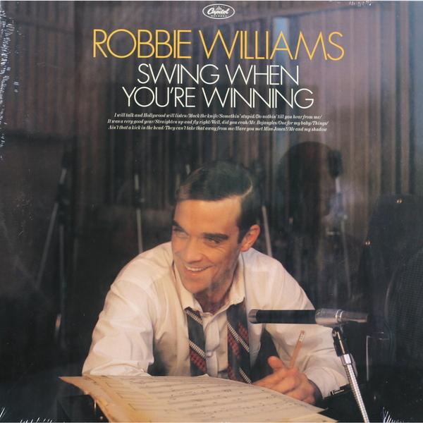 цена на Robbie Williams Robbie Williams - Swing When You're Winning