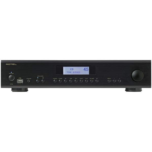 Стереоусилитель Rotel A12 Black стереоусилитель мощности cary audio design sa 200 2 black
