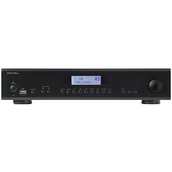Стереоусилитель Rotel A14 Black стереоусилитель мощности cary audio design sa 200 2 black