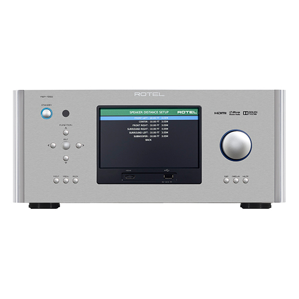 Фото - AV процессор Rotel RSP-1582 Silver видео