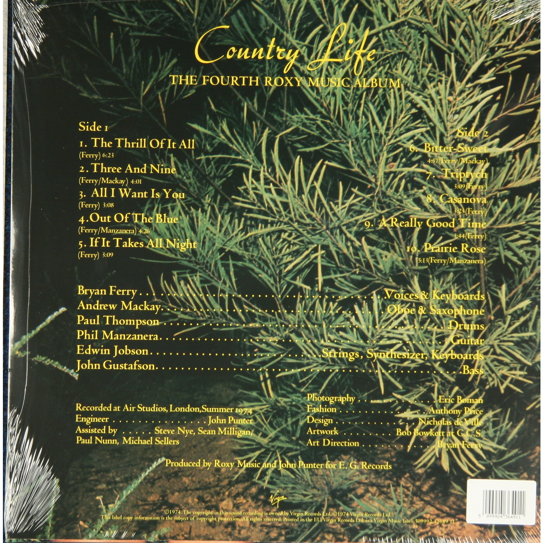 Country Life: ROXY MUSIC-COUNTRY LIFE, купить виниловую пластинку ROXY