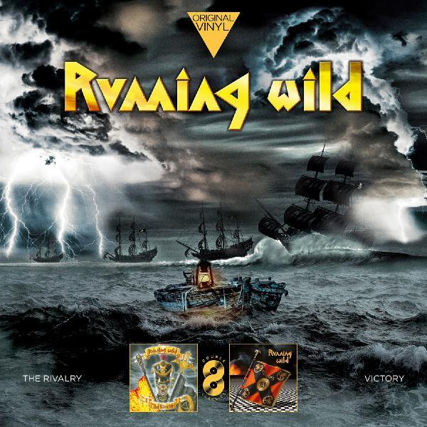 Running Wild Running Wild - Original Vinyl Classics: The Rivalry + Victory (2 LP) футболка running wild