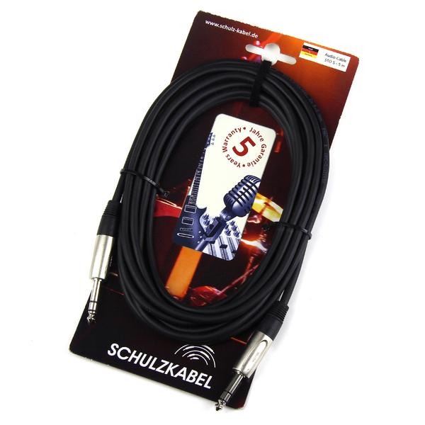 Кабель Jack-Jack Schulz Кабель межблочный стерео Jack-стерео Jack STO 5 m smartbuy ka321 70 3 5 jack кабель