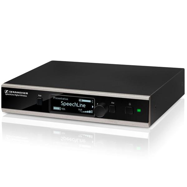 Приемник для радиосистемы Sennheiser SL RACK RECEIVER DW-3-EU аксессуары для микрофонов радио и конференц систем sennheiser ac 3000 eu