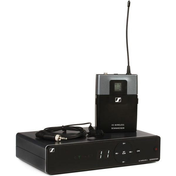 Радиосистема Sennheiser XSW 1-ME2-B радиосистема sennheiser xsw 2 me2 b