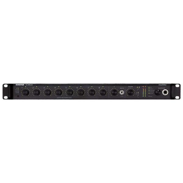 Аксессуар для концертного оборудования Shure Микрофонный микшер SCM820E-DAN микшер с усилением dynacord powermate 600 3