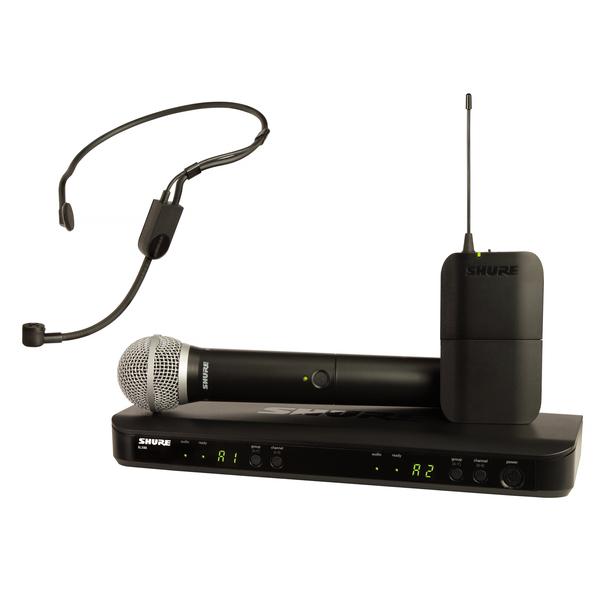Радиосистема Shure BLX1288E/P31 M17 передатчик для радиосистемы shure blx2 b58 m17