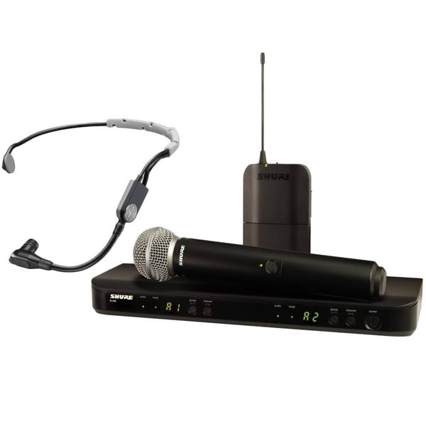 Радиосистема Shure BLX1288E/SM35 M17 передатчик для радиосистемы shure blx2 b58 m17