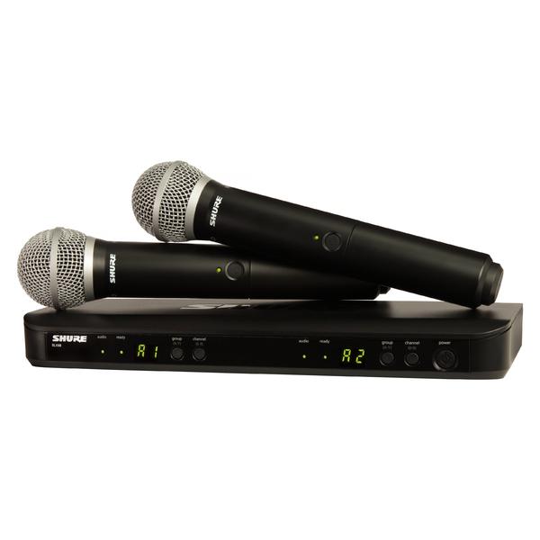 Радиосистема Shure BLX288E/SM58 M17 цена и фото