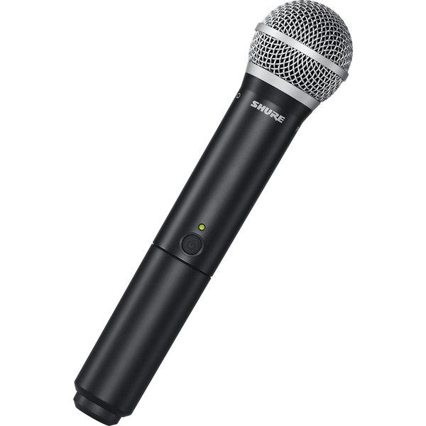 Передатчик для радиосистемы Shure BLX2/PG58 M17 держатель для микрофона shure mx400dp