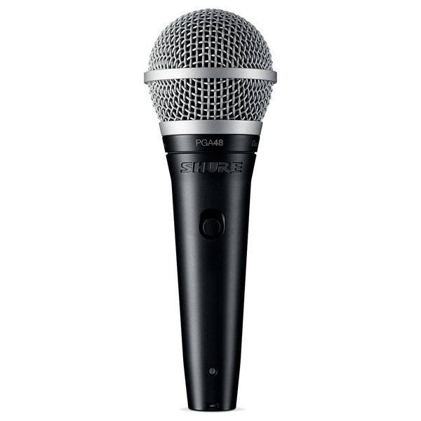 Вокальный микрофон Shure PGA48-XLR-E инструментальный микрофон shure pga98d xlr