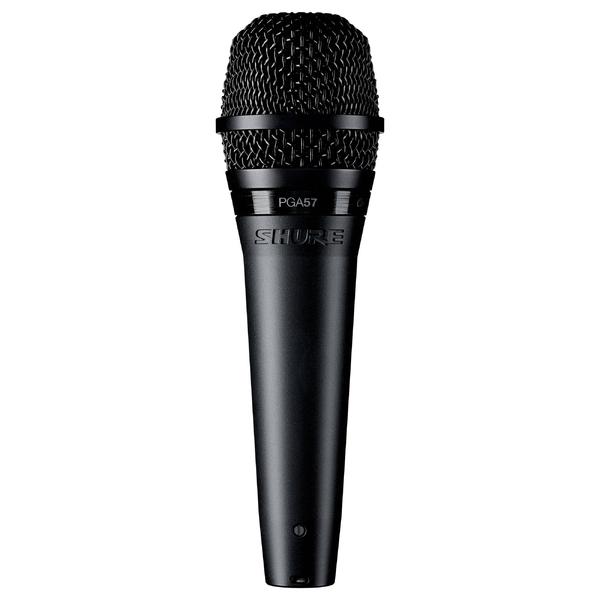 Инструментальный микрофон Shure PGA57-XLR держатель для микрофона shure mx400dp