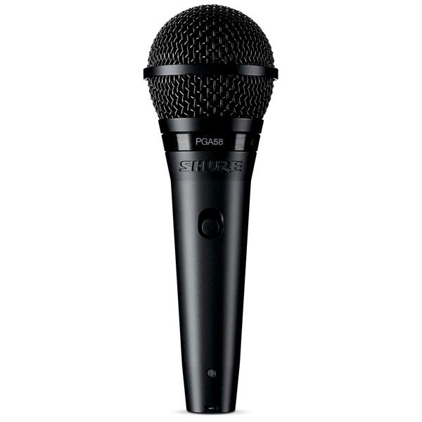 Вокальный микрофон Shure PGA58-XLR-E инструментальный микрофон shure pga98d xlr