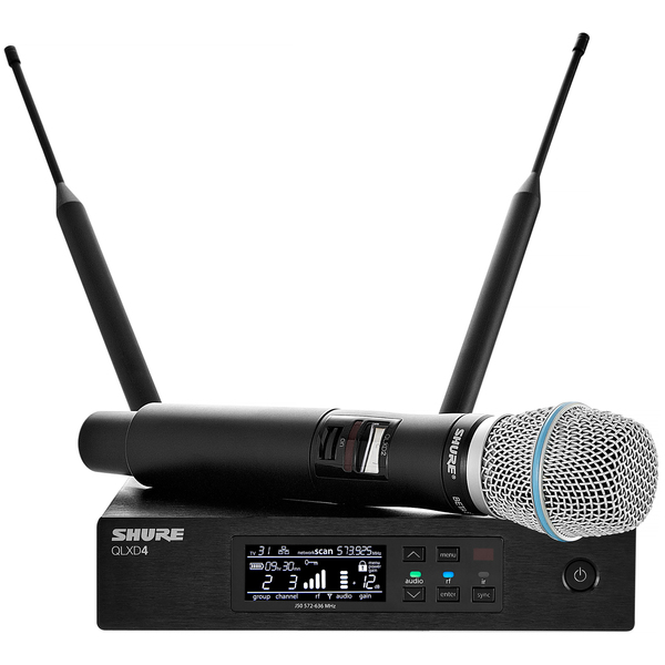 Радиосистема Shure QLXD24E/B87A G51 shure qlxd24e ksm9 p51