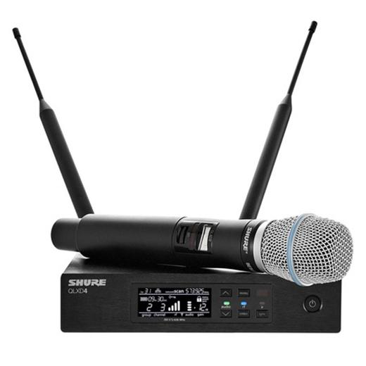 Радиосистема Shure QLXD24E/SM86 P51 shure qlxd24e ksm9 p51