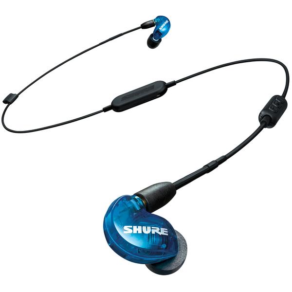 Беспроводные наушники Shure SE215SPE-B-BT1-EFS беспроводные наушники shure se846 bt1 efs blue