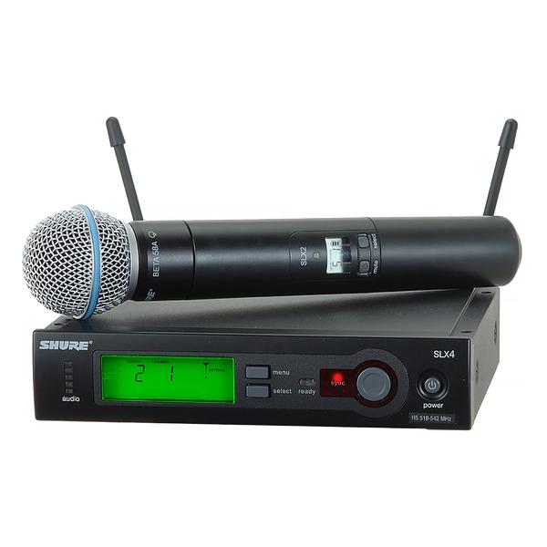 Радиосистема Shure SLX24E/B58 P4 радиосистема shure slx24e b58 p4