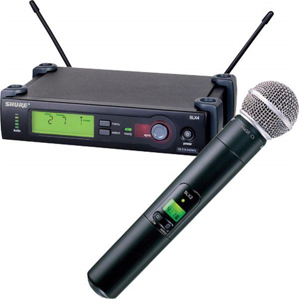 Радиосистема Shure SLX24E/SM58 P4 радиосистема shure slx24e b58 p4