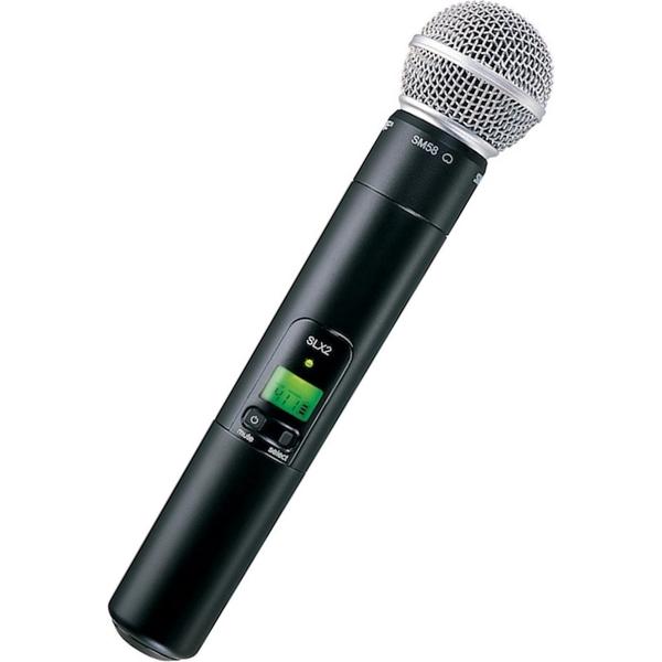 Передатчик для радиосистемы Shure SLX2/SM58 P4 держатель для микрофона shure mx400dp