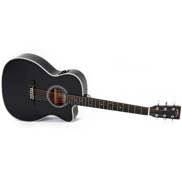 Гитара электроакустическая Sigma Guitars 000MC-1STE-BK цена