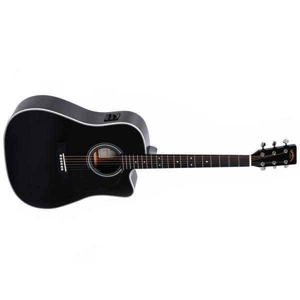 Гитара электроакустическая Sigma Guitars DMC-1STE-BK цена