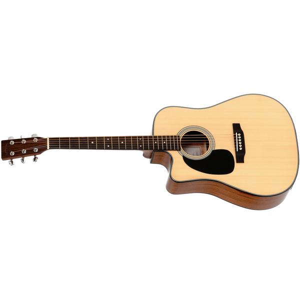 лучшая цена Гитара электроакустическая Sigma Guitars DMC-1STEL