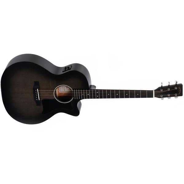 лучшая цена Гитара электроакустическая Sigma Guitars GMC-STE+ Blackburst