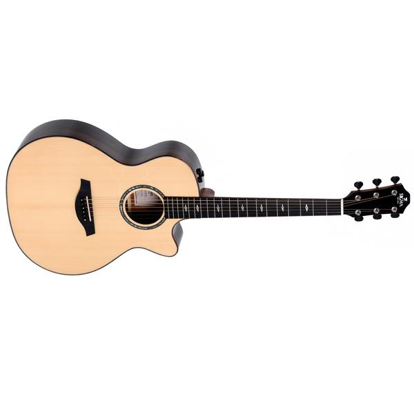 Гитара электроакустическая Sigma Guitars GZCE-3+ цена