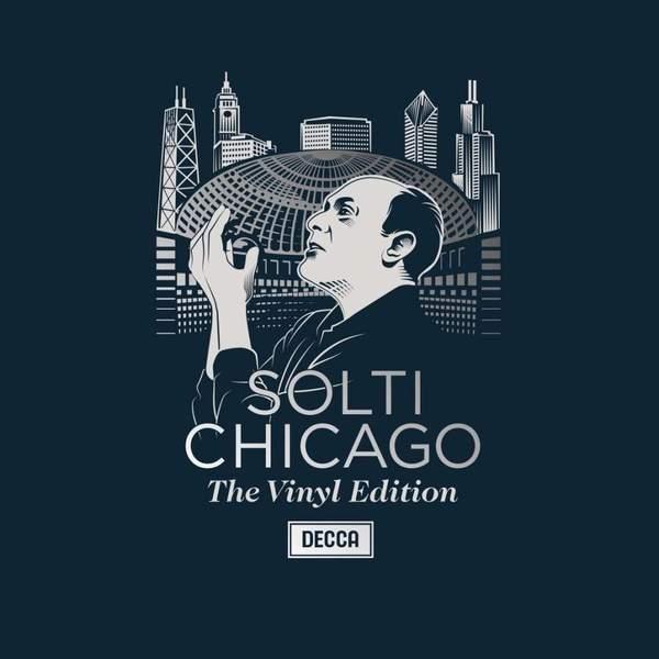 Sir Georg Solti Sir Georg Solti - The Chicago Years (6 LP) strauss sir georg solti die frau ohne schatten 2 dvd