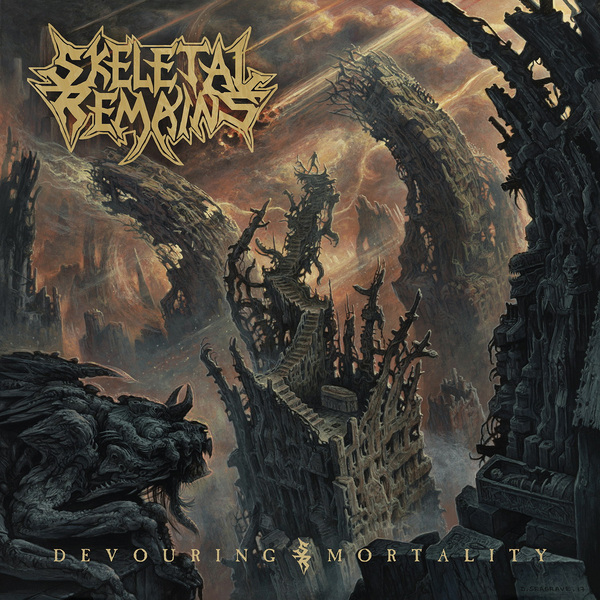 Skeletal Remains Skeletal Remains - Devouring Mortality (lp 180 Gr + Cd) skeletal remains skeletal remains devouring mortality lp 180 gr cd