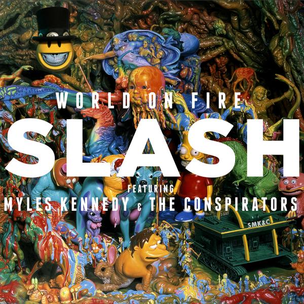 цены на SLASH SLASH - World On Fire (2 Lp, Colour)  в интернет-магазинах