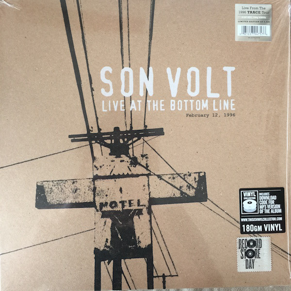Son Volt Son Volt - Live At The Bottom Line 2/12/96 (2 Lp, 180 Gr) iron maiden – seventh son of a seventh son lp