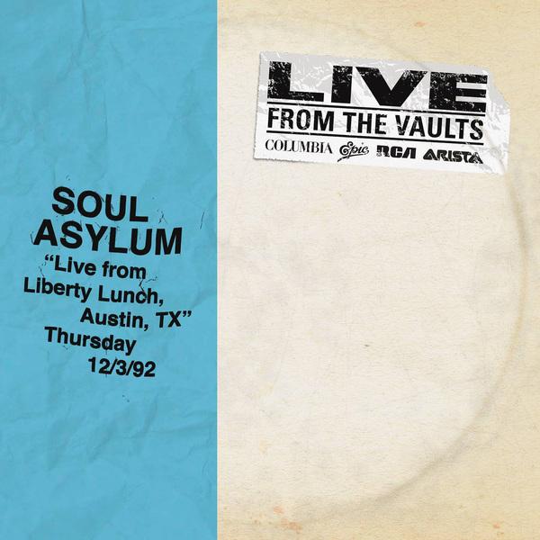 Soul Asylum Soul Asylum - Live From Liberty Lunch, Austin, Tx (2 LP) roux m asylum