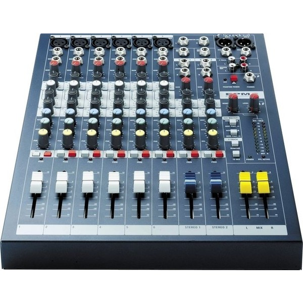Аналоговый микшерный пульт Soundcraft EPM6 аналоговый микшерный пульт soundcraft notepad 8fx