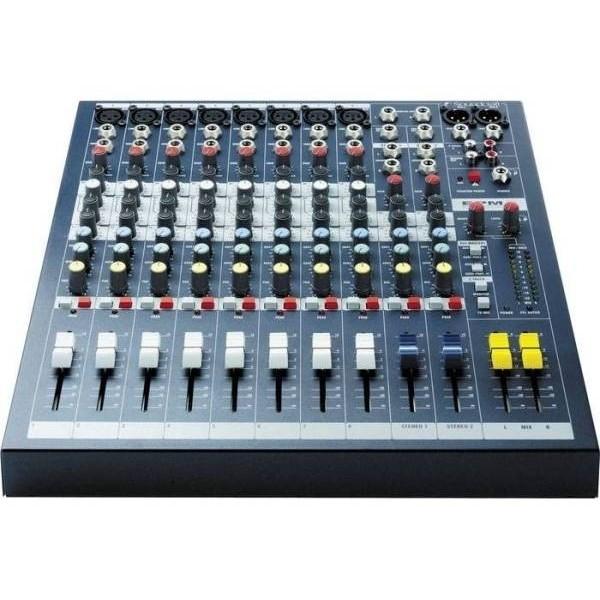 Аналоговый микшерный пульт Soundcraft EPM8 аналоговый микшерный пульт soundcraft notepad 8fx