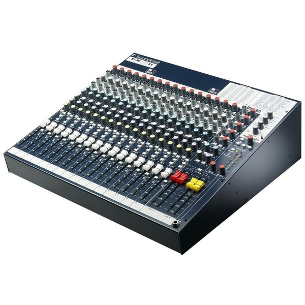 Аналоговый микшерный пульт Soundcraft FX16ii аналоговый микшерный пульт soundcraft signature 12