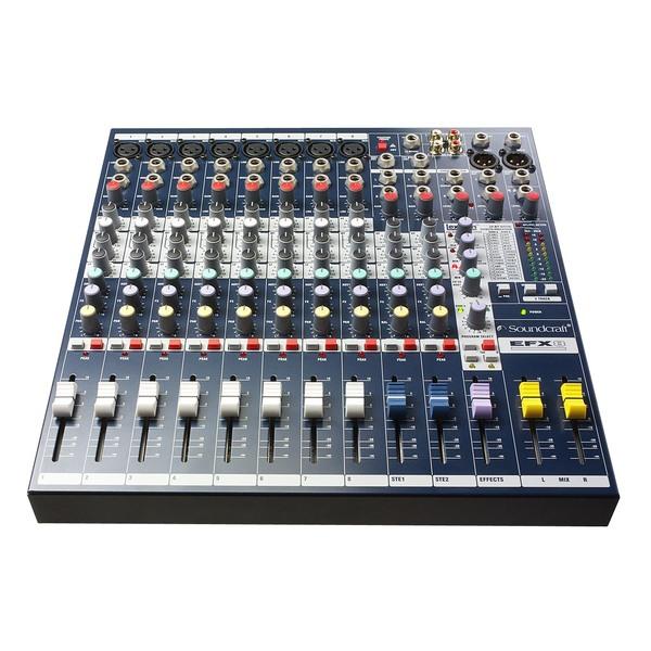Аналоговый микшерный пульт Soundcraft EFX8 аналоговый микшерный пульт soundcraft notepad 8fx