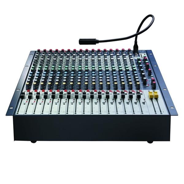 Аналоговый микшерный пульт Soundcraft GB2R-16 аналоговый микшерный пульт soundcraft notepad 8fx