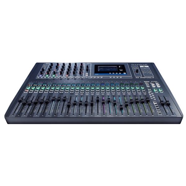 Цифровой микшерный пульт Soundcraft Si Impact аналоговый микшерный пульт soundcraft notepad 8fx