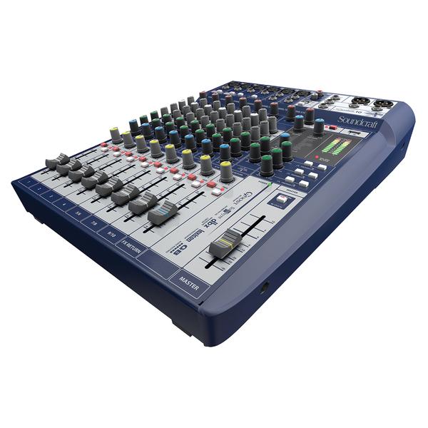 Аналоговый микшерный пульт Soundcraft Signature 10 аналоговый микшерный пульт soundcraft signature 12