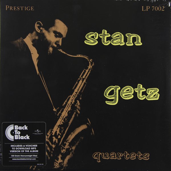 цена на Stan Getz Stan Getz - Stan Getz Quartets (180 Gr)