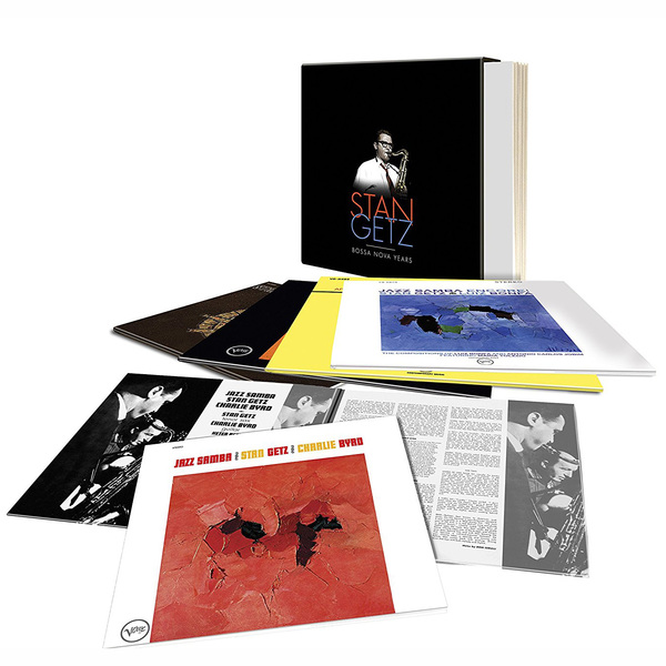 цена на Stan Getz Stan Getz - Bossa Nova Years (5 LP)