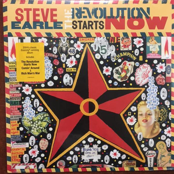 Steve Earle Steve Earle - The Revolution Starts Now недорого