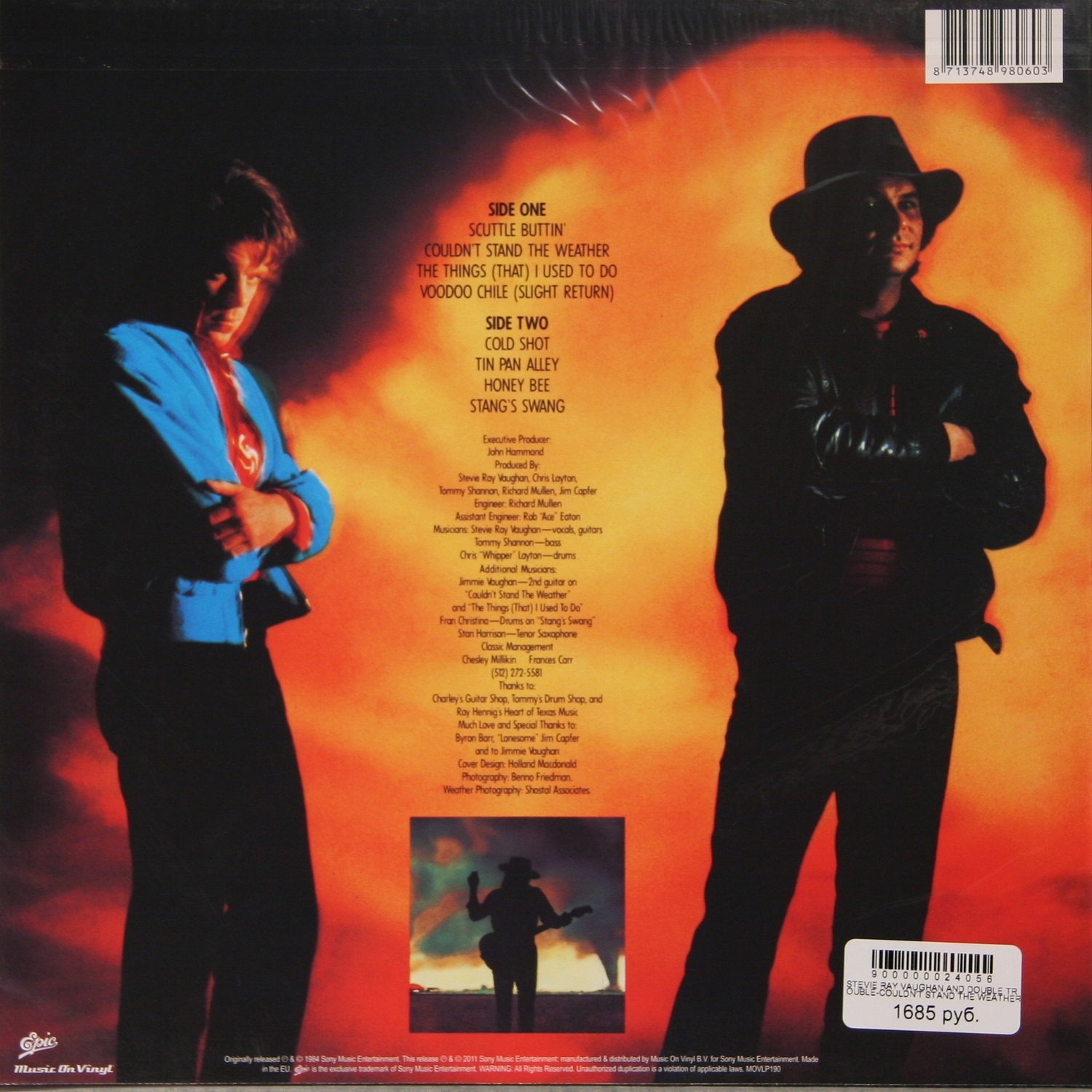 Stevie Ray Vaughan And Double Trouble Couldn T Stand The